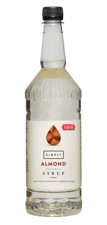 Simply Sugar Free Almond Syrup - 1 Litre